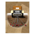 60th Wedding Anniversary Gifts Postcards