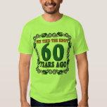 60th Wedding Anniversary Gifts Tee Shirt