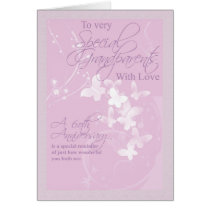 60th Wedding Anniversary Grandparents Card