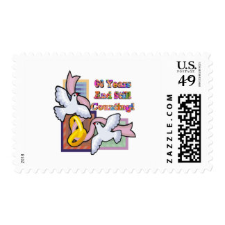 60th wedding anniversary gt postage stamp