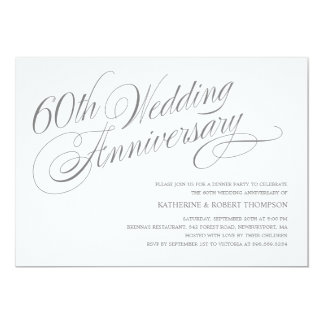60th wedding anniversary invitations online