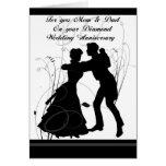 60th Wedding Anniversary Mom & Dad Card