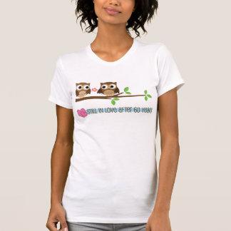 60th Wedding Anniversary Owls T-Shirt