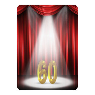 60th Wedding Anniversary Party Card