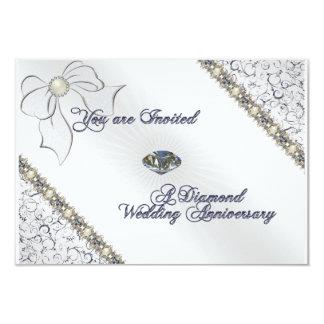 60th Wedding Anniversary RSVP Card
