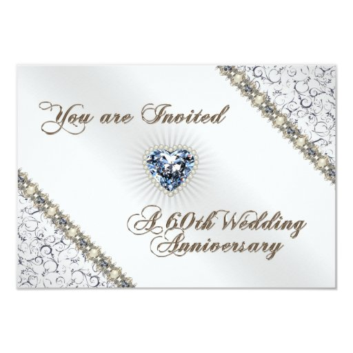 Th wedding anniversary rsvp invitation card zazzle