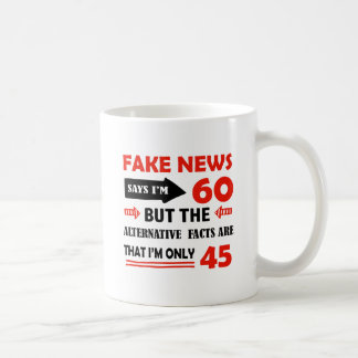 60th year old birthday gifts coffee mug