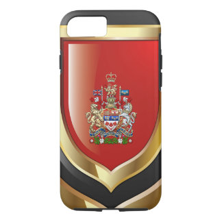 [610] Canada Coat of Arms [3D] iPhone 8/7 Case