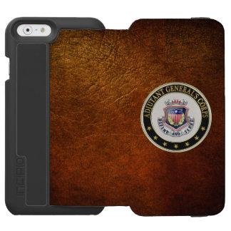 [610] Insignias regimentales del cuerpo del AG Funda Billetera Para iPhone 6 Watson