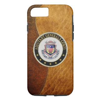 [610] Insignias regimentales del cuerpo del AG Funda iPhone 7