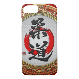 [610] Japanese Martial Arts Calligraphy: Judo iPhone 8/7 Case