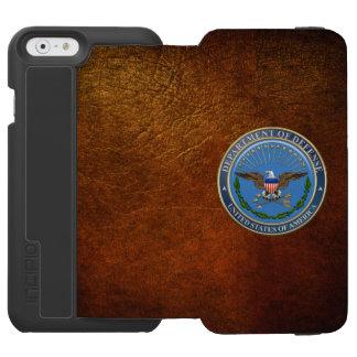 [610] U.S. Department of Defense (DOD) Emblem [3D] iPhone 6/6s Wallet Case