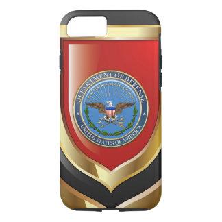 [610] U.S. Department of Defense (DOD) Emblem [3D] iPhone 8/7 Case