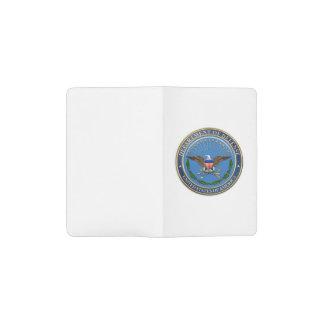 [610] U.S. Department of Defense (DOD) Emblem [3D] Pocket Moleskine Notebook