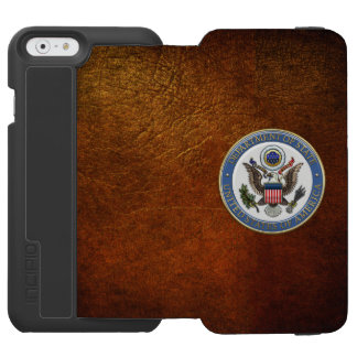 [610] U.S. Department of State (DoS) Emblem [3D] iPhone 6/6s Wallet Case