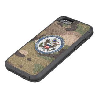 [610] U.S. Department of State (DoS) Emblem [3D] Tough Xtreme iPhone 6 Case