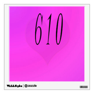 610 WALL DECAL