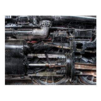 611 - Nanovatio - Clase de J - vapor 4-6-4 - rueda Tarjeta Postal