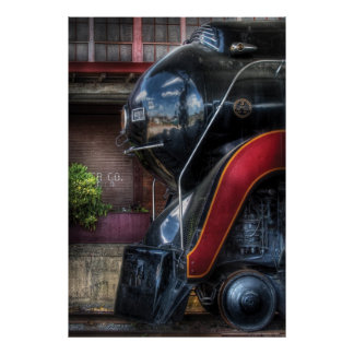 611 - NW - J Class - Steam 4-6-4 Poster