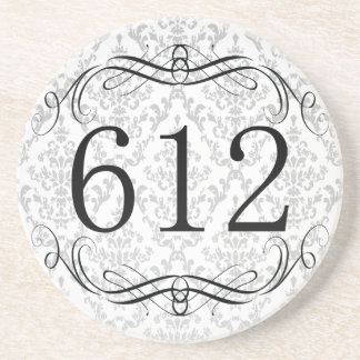 612 Area Code Drink Coasters
