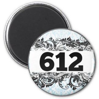 612 FRIDGE MAGNET