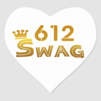 612 Minnesota Swag Sticker