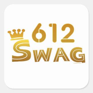 612 Minnesota Swag Stickers