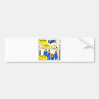 612 tuna factory closed cartoon bumper sticker