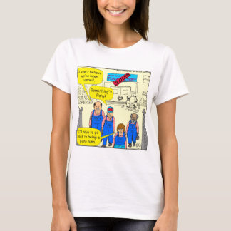 612 tuna factory closed cartoon T-Shirt