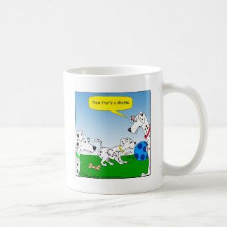 613 dalmation cat cartoon coffee mug