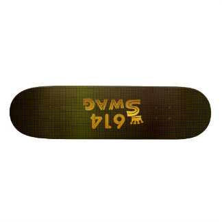 614 Area Code Swag Skateboard