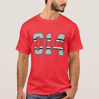 614 Area Code T-shirt