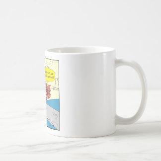 614 car in common cartoon coffee mug