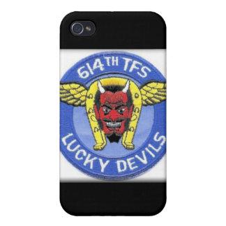 614 TFS Lucky Devils Torrejon Spain iPhone 4/4S Covers