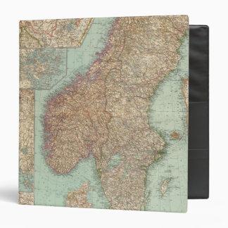 """6162 Suecia, Noruega Carpeta 1 1/2"""""""