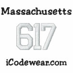 617 Boston Sudadera Bordada Con Capucha