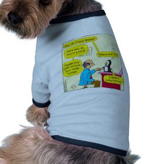 617 tengo dibujo animado de las rodillas ropa de perros