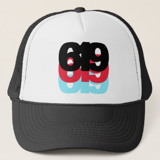 619 Area Code Trucker Hat