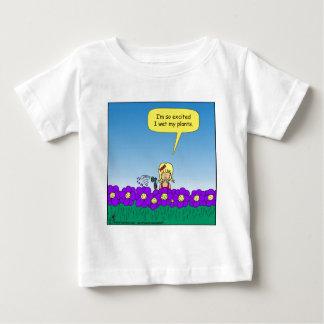 619 I wet my plants cartoon Baby T-Shirt