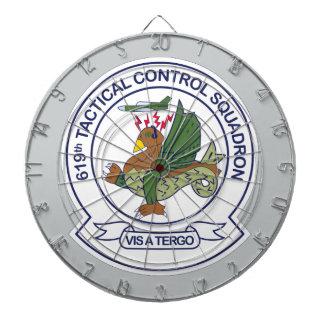 619th Escuadrilla del control táctico Tablero De Dardos