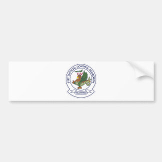 619th Tactical Control Squadron Bumper Sticker