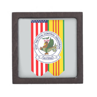 619th Tactical Control Squadron - Flags Gift Box