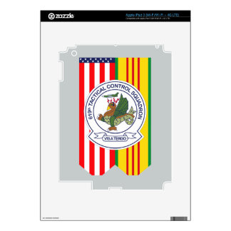 619th Tactical Control Squadron - Flags Skins For iPad 3