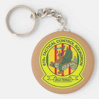 619th Tactical Control Squadron Vietnam Keychain