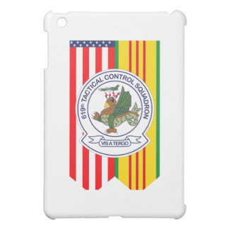 619th Tactical Control Squadron W/Flags iPad Mini Cover