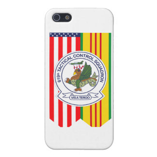 619th Tactical Control Squadron W/Flags iPhone SE/5/5s Case
