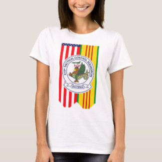 619th Tactical Control Squadron W/Flags T-Shirt