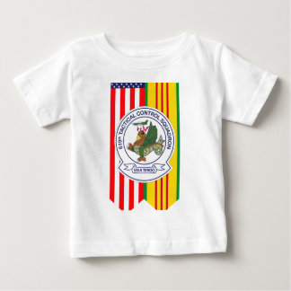 619th Tactical Control Squadron W/Flags Tee Shirt