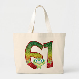 61 Age Ghoul Jumbo Tote Bag