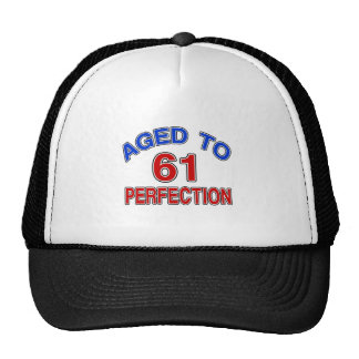 61 Aged To Perfection Trucker Hat